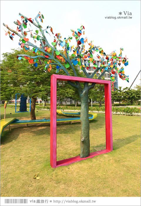 【南科幾米】台南|台積電南科幾米裝置藝術小公園~願望盛開‧許諾之地11