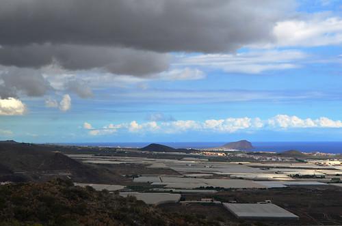 South East Tenerife from Montaña Guaza, Tenerife
