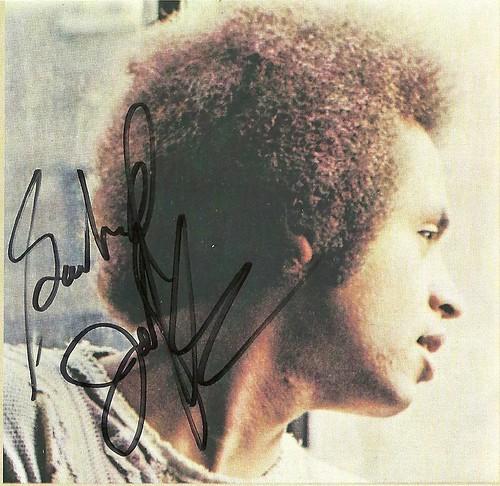 11/07/14 Garland Jefferys @ Dakota Jazz, Minneapolis, MN (Autographed 1972 Debut CD Insert)