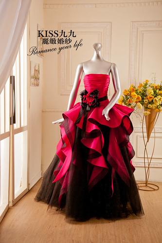 高雄KISS九九麗緻婚紗-推薦婚紗禮服-限量訂製款6 (1)