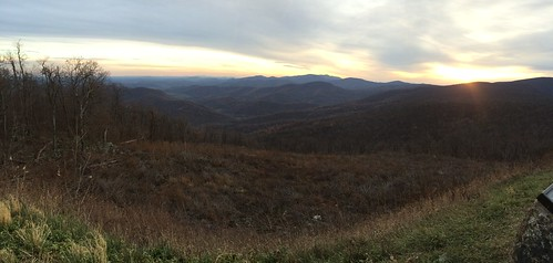 Shenandoah Range View Overlook