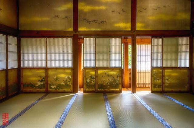「光」 仁和寺 - 京都
