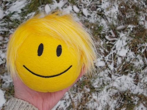 Childrens toy_smile_smiley face_happy face_extra small_Punk hairstyle_31