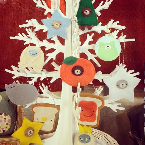 Ornaments @artstarphilly Fall Craft Bazaar! Here until 7! #migrationgoods