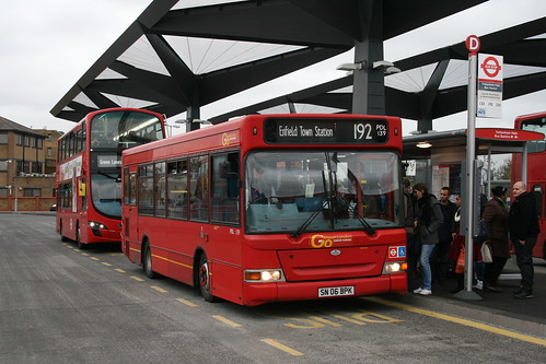 London General PDL139 on Route 192, Tottenham Hale Bus Station