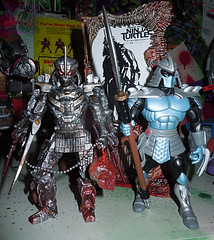 """NINJA TURTLES"" Movie :: SHREDDER  { tOKKustom MOVIE MANIAC } xviii / ..with 4KIDS SHREDDER '03 (( 2014 ))"