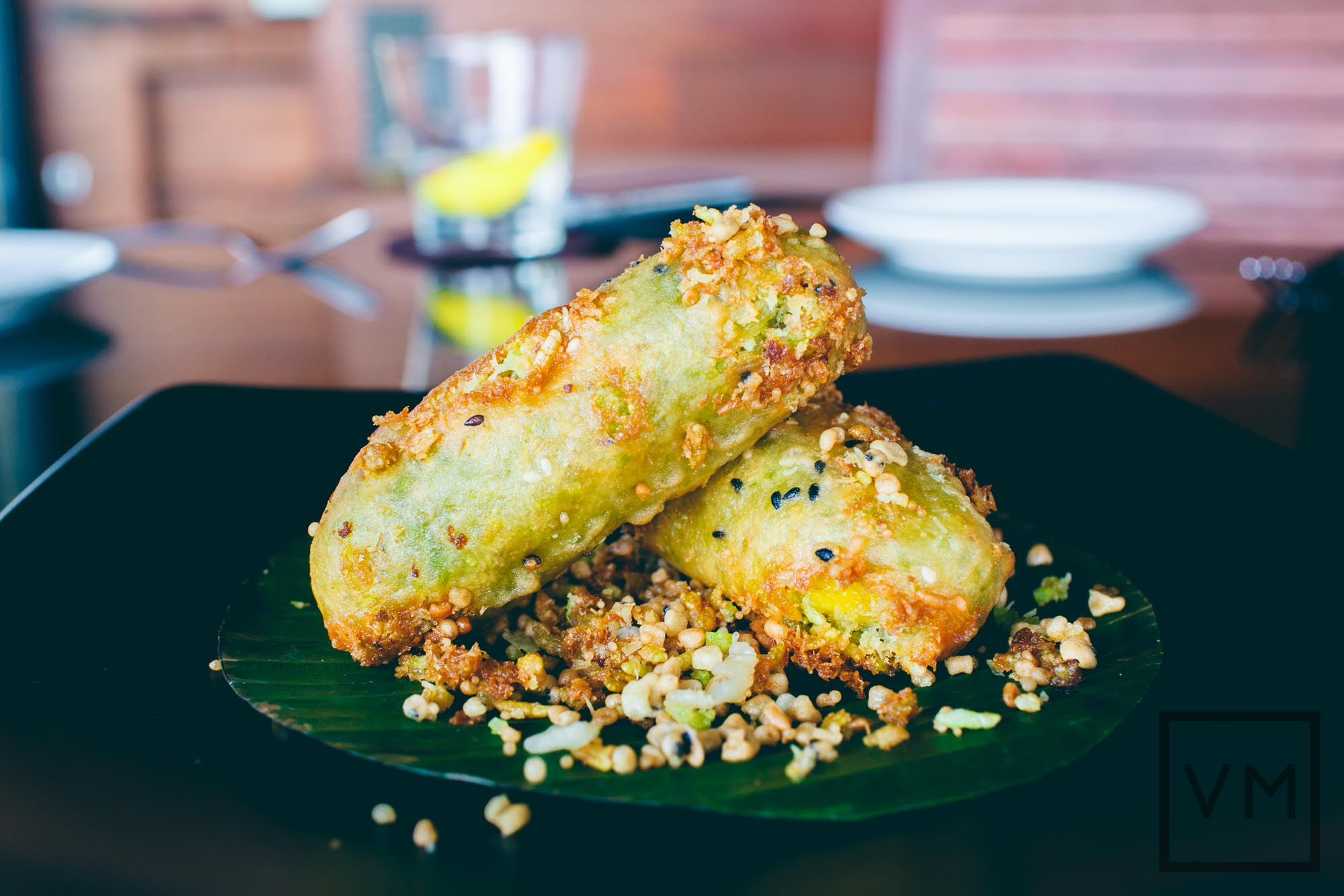 Thai Fried Banana Fritter