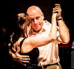 Nathalie and Carlos, January 2014, Tango Bal (Salle Maalbeek)