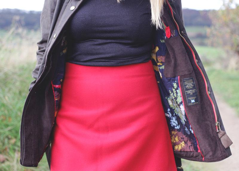 Joules Wax Coat, Bumpkin Betty