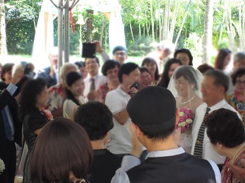 台南商務會館-基督教戶外證婚儀式 (11)