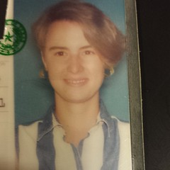 Throwback Thursday... My driver's license from 1994. Photo taken on my 21st birthday. #tbt
