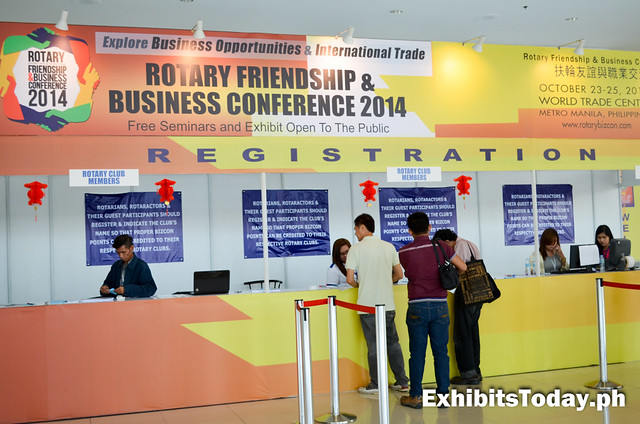 Rotary Friendship & Business Conference 2014 Registration Area
