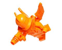 Orange flying robot