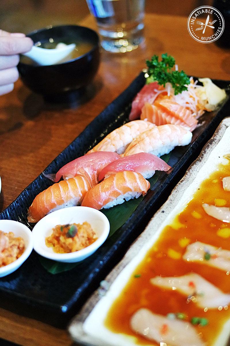 Sushi and Sashimi Combination