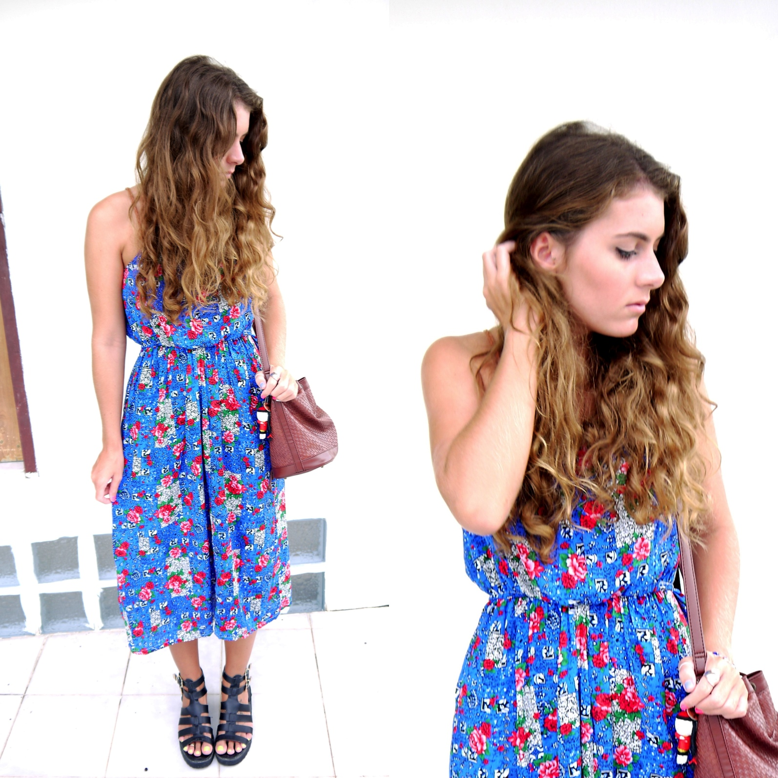 Blue dress // Kirsty Wears Style Blog
