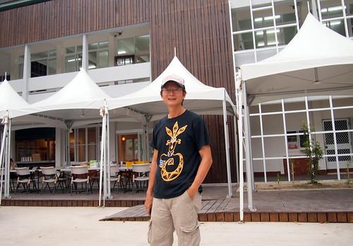 洪輝祥認為,此實體店面實踐了過去20年做環境倡議的所有認知。攝影:李育琴。