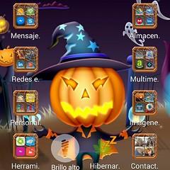 Vamos a celebrar #Halloween... aunque sólo sea personalizando el móvil, jejejejeje!!! ¿Y tú qué prefieres, truco o trato? :grin: #Halloween2014 #trucootrato  #TrickorTreat #HappyHalloween
