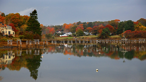 maine seashore refections