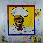Floyd Tunson; Cream of Wheat: Politics of the 90s; mixed media; 1991 - rePOPulated: contemporary perspectives on pop art at the Arvada Center