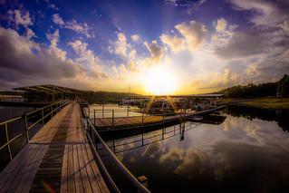 The Docks at Degrey State Park, Arkansas