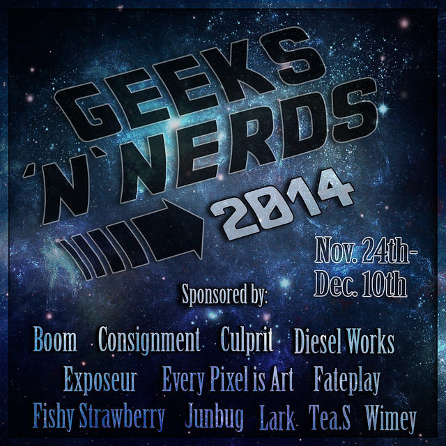 Geeks'n'Nerds 2014 Is coming soon!!!!
