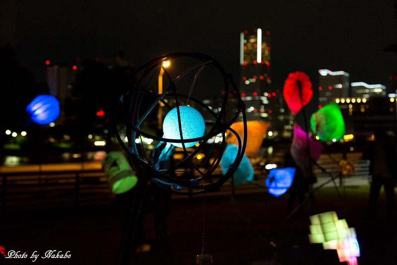 Junk Balloon Light -スマートイルミネーション横浜2014 by Nakabo