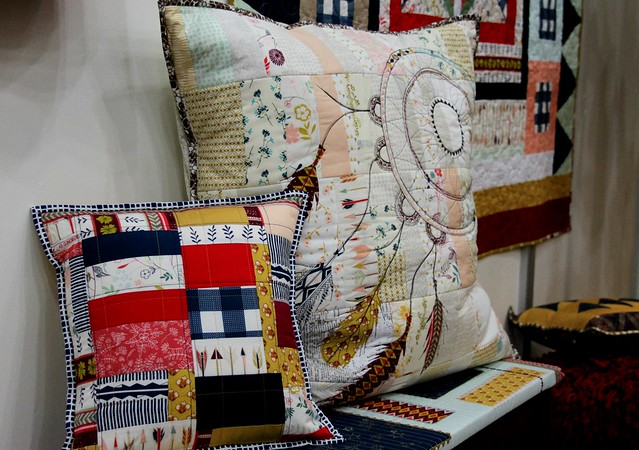 Quilt Market pillows