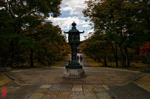 「染まる」 仁和寺 - 京都