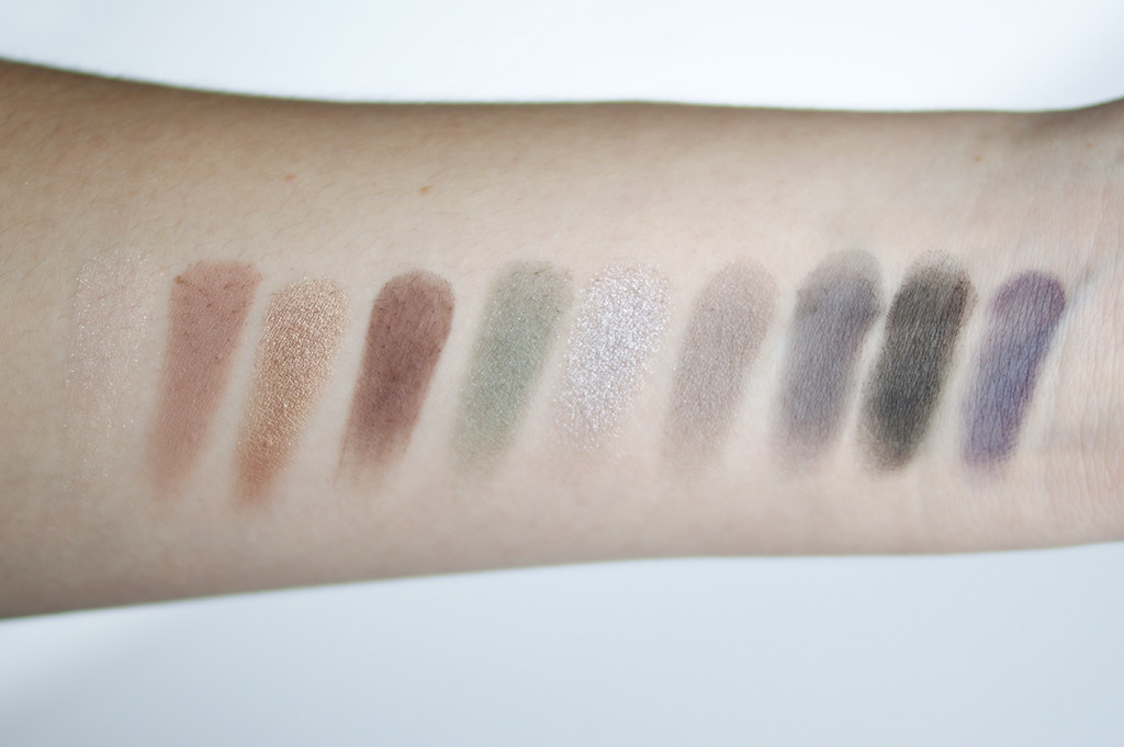 Tarte Bon Voyage Collector's Set review swatches holiday 2014 cosmetics palette