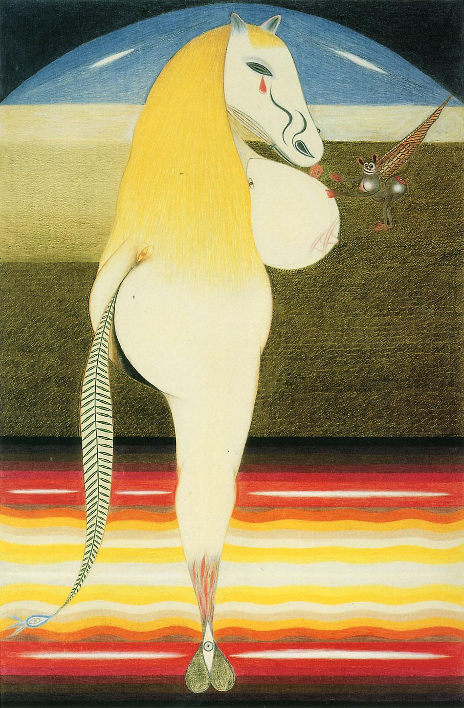 FRIEDRICH SCHRÖDER-SONNENSTERN - The Sad Horse ,1959