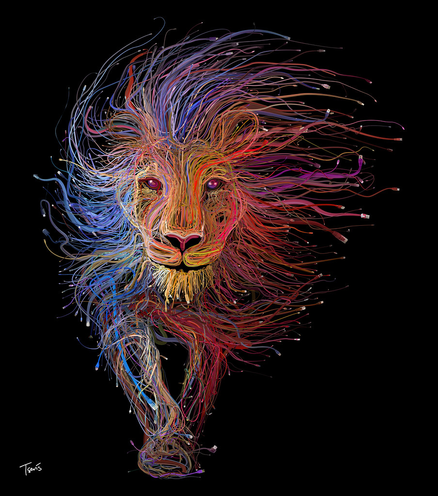 The Lion of Lyon (For the LYON EXPO 2015 - FOIRE DE LYON 2015)