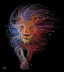 The Lion de Lyon (for the Lyon Expo 2015)