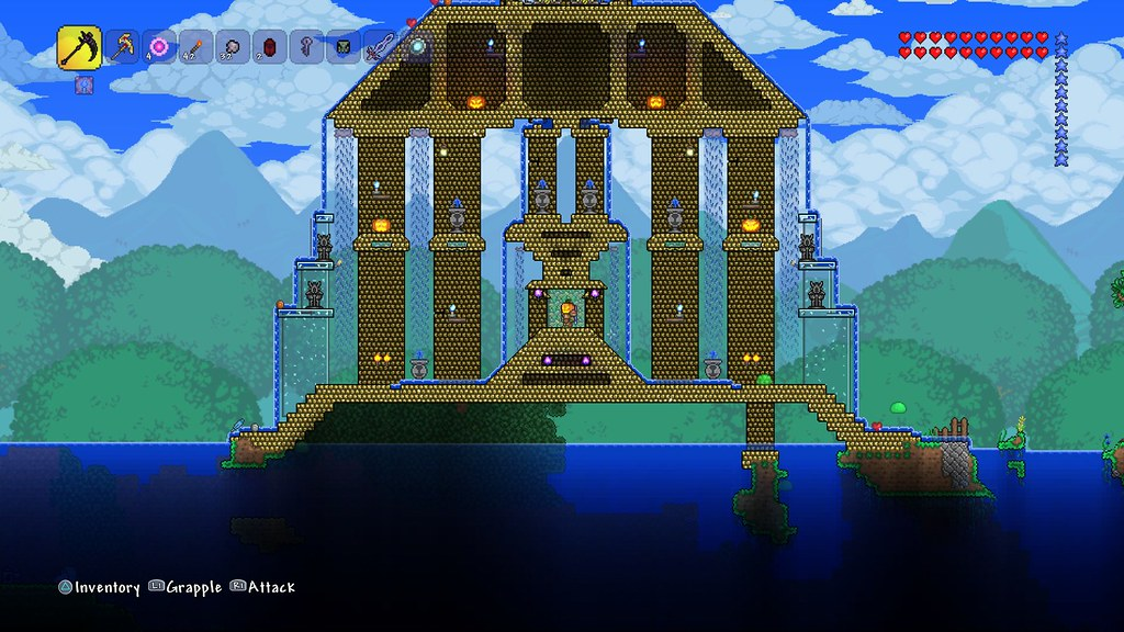 Terraria hits ps4 next week with a bigger world new items cross 15534473878285bc757dbo gumiabroncs