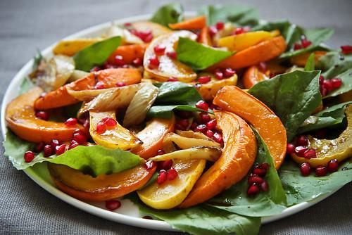Squash Pomegranate Salad 2