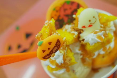 Halloween parfait