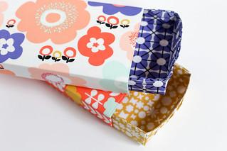 Geometric Bliss Storage Boxes