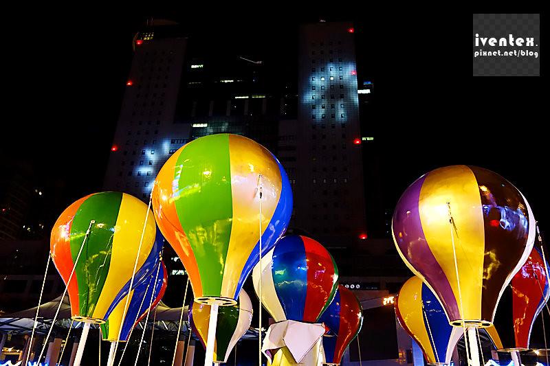 34刀口力2014新北市歡樂耶誕城新北市市民廣場幸福熱氣球