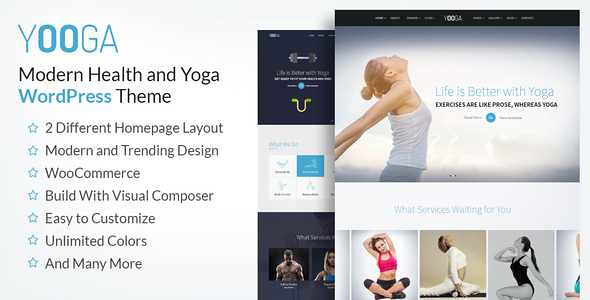 Yooga WordPress Theme free download