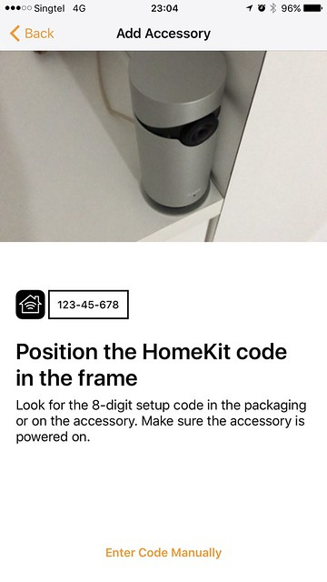 Home iOS App - Position HomeKit Code