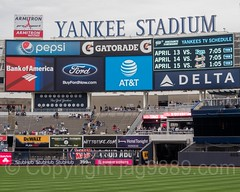 Yankees Game at Yankee Stadium, The Bronx, New York City