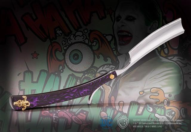 The Noble Collection - 《自殺突擊隊》【小丑的剃刀】造型拆信刀 The Joker Razor Letter Opener