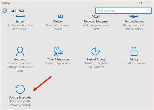 Hướng dẫn update Windows 10 Creators - Cách update Windows 10 Creators không mất dữ liệu