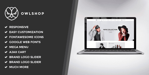 Owlshop WordPress Theme free download