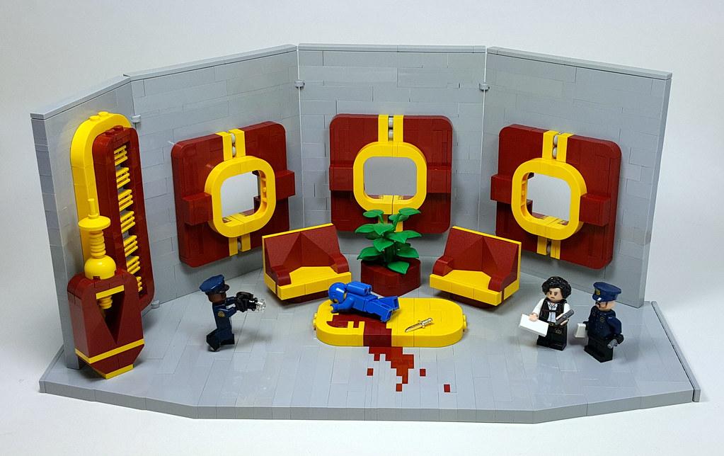 Murder on the S.S. Benny (custom built Lego model)