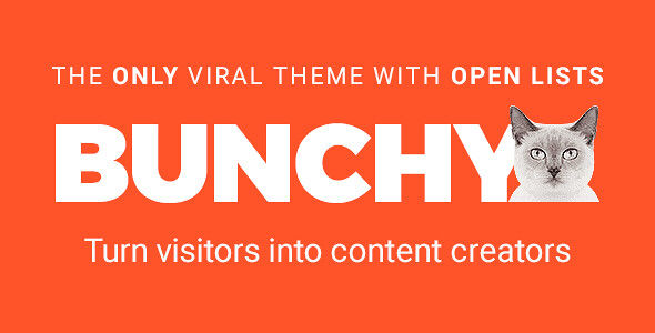 Bunchy WordPress Theme free download