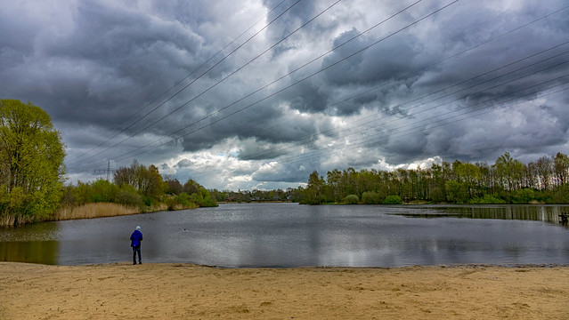 April weather at the Weichelsee