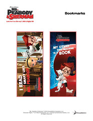 Mr Peabody and Sherman - Bookmarks1