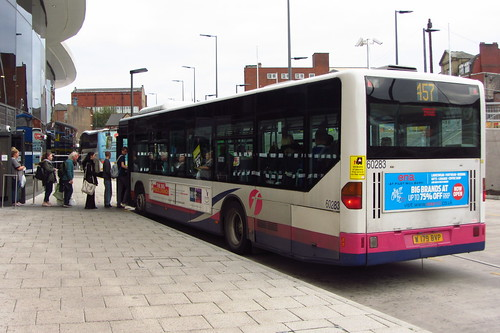 First Greater Manchester Mercedes Citaro W179 BVP, Rochdale Interchange