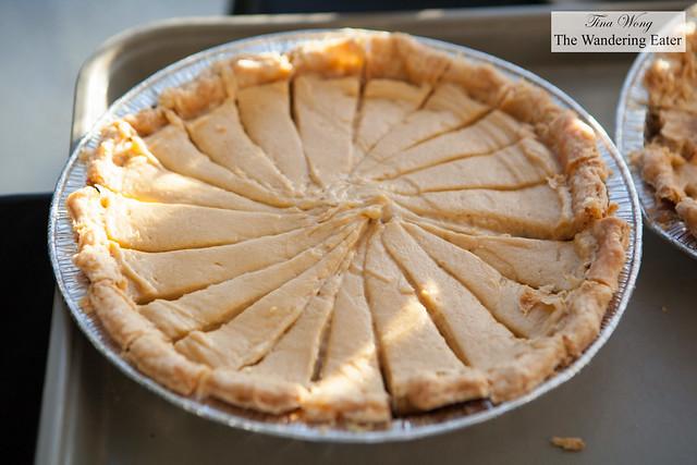 Banana Fluffernutter Pie by Chef Colleen Grapes of Oceana