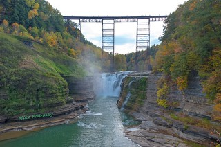 Upper Falls of the Genesee River